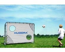 Hudora Fussballtor Freekick mit Torwand