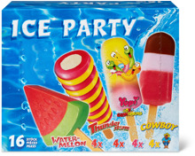 Ice Party Wassereis in Sonderpackung