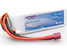 ICED POWER 6S 22.2V 1500mAh 45C/90C (LiPo, 22.20V, 1500mAh)
