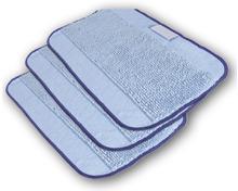 IROBOT Microfiber-Nassmopptücher-Set, 3-teilig