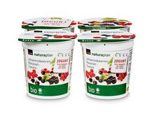 Jogurt des Monats: Coop Naturaplan Bio-Jogurt Johannisbeeren, 4 x 150 g