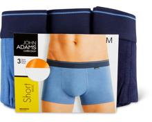 John Adams Herren-Short im 3er-Pack