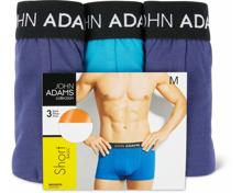 John Adams Herren-Short im 3er-Pack, 3er-Pack