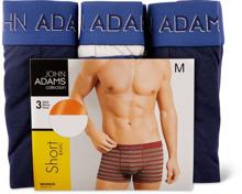 John Adams Herren-Shorts im 3er-Pack