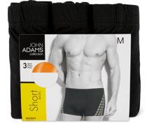 John Adams Herren-Slip oder -Short im 3er-Pack