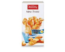 Kambly Mini-Twist Salz-Butter, 3 x 100 g, Trio