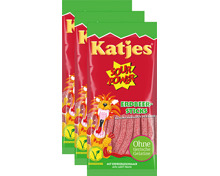 Katjes Sour Power Sticks Erdbeere
