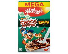Kellogg's Choco Krispies & Chocos, 2 x 600 g, Duo
