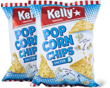 Kelly Popcorn-Chips gesalzen