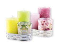 Kerzen-Set, 3-teilig