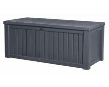 Keter Rockwood Box 570l, anthrazit 155 x 72.4 x H 64.4 cm