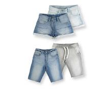 KIDS ALIVE Kinder-Denim-Sweatshorts
