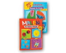 Kinder Mal-/Spassbuch