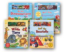 Kinderbuch mit Filzseiten