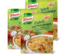 Knorr Beutelsuppen im 3er-Pack, 3er-Pack