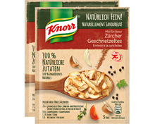 Knorr Mix Sauce Zürcher Geschnetzeltes