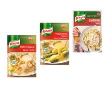 Knorr Saucen (nur in der Deutsch- und Westschweiz)