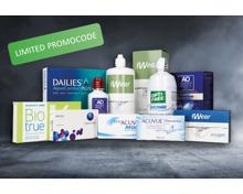 Kontaktlinsen und Pflegemittel Super-Rabatt (Limited)