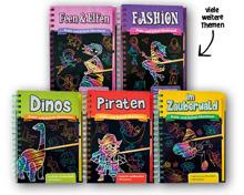 Kratzbuch für Kinder