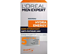 L'Oréal Men Expert Hydra Energy Feuchtigkeitspflege 24h Anti-Müdigkeit