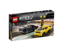 LEGO® Speed Champions® 2018 Dodge Challenger SRT Demon e 1970 Dodge Charger R/T 75893