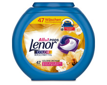 Lenor All-in-1 Pods Colorwaschmittel Goldene Orchidee, 47 Stück
