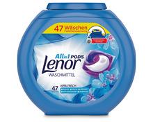 Lenor All-in-1 Pods Vollwaschmittel Aprilfrisch, 47 Stück
