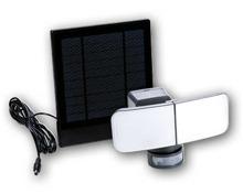 LIGHTAWAY LED-Solar-/Batterie-Strahler