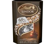 Lindor Noir 60% Cornet