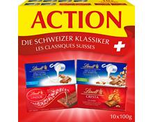 Lindt Tafelschokoladen Schweizer Klassiker