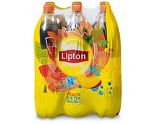 Lipton Ice Tea Peach, 6 x 1,5 Liter