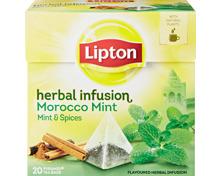 Lipton Pyramiden-Tee Herbal Infusion Morocco Mint