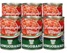 Longobardi gehackte Tomaten im 6er-Pack, 6er-Pack