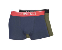 Lonsdale Herren-Boxershorts, 2er-Pack