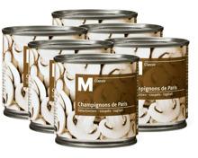 M-Classic Champignons geschnitten in Mehrfachpackungen