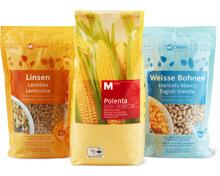 M-Classic-Hülsenfrüchte getrocknet, -Getreidekörner, -Polenta und -Bramata