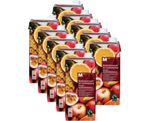 M-Classic Multivitaminsaft, Fairtrade im 10er-Pack, 10 x 1 Liter