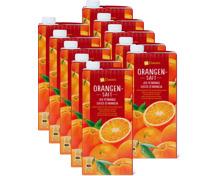 M-Classic Orangensaft im 10er-Pack