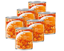 M-Classic Ravioli-Napoli und -Bolognese in Mehrfachpackung