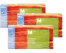 M-Classic-Sardellen, -Sardinen oder -Makrelen im 3er-Pack