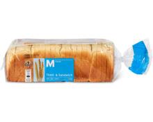M-Classic-Toast & Sandwich 620 g und -Toast Soleil 500 g, TerraSuisse
