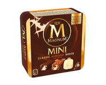 Magnum Mini Classic, Almond, White