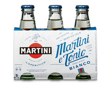 *Martini Bianco & Tonic, 7,5%, 3 x 15 cl