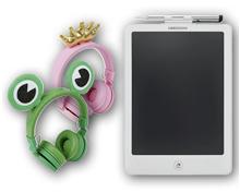 MEDION® Kinderkopfhörer/LCD-Schreibtafel