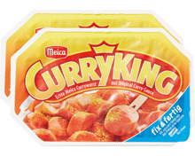 Meica Currywurst Curry King