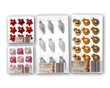 Mini-Weihnachtsschmuck-Sets