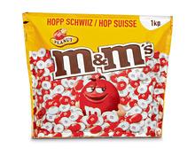 M&M's Peanut Red & White Football