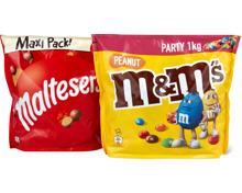 M&M's Peanut und Maltesers