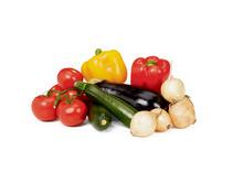Multibag oder Tragtasche füllen mit folgendem Gemüse
