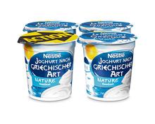 Nestlé Griechisches Jogurt Nature, 4 x 150 g